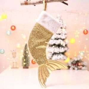 ONLY GOLD LEFT🧜♀️3xHP Mermaid Christmas Stocking